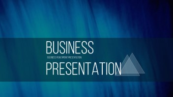 complete editable business presentation: triangles