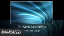 Animated Abstract 0012 A Widescreen PPT PowerPoint Animated Template Background