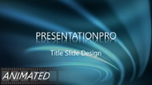 Animated Abstract 0012 B Widescreen PPT PowerPoint Animated Template Background