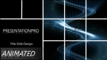 Animated Abstract 0063 Widescreen PPT PowerPoint Animated Template Background