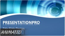 Animated Abstract 0097 Widescreen PPT PowerPoint Animated Template Background