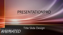Animated Abstract 0511 Widescreen PPT PowerPoint Animated Template Background