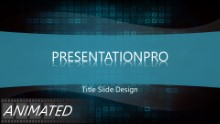 Animated Abstract 1000 Widescreen PPT PowerPoint Animated Template Background