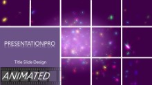Animated Celebrate2 Widescreen PPT PowerPoint Animated Template Background