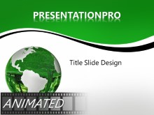 Download animated conservation globe Animated PowerPoint Template and other software plugins for Microsoft PowerPoint