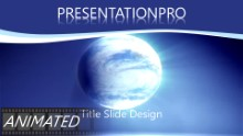 Animated Global 0025 Widescreen PPT PowerPoint Animated Template Background