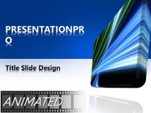 Download animated glowing tech Animated PowerPoint Template and other software plugins for Microsoft PowerPoint