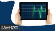 Animated Medical Widescreen PPT PowerPoint Animated Template Background