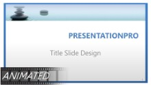 Animated Premium WaterStone HD PPT PowerPoint Template Background