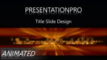 Animated Tech 0922 Widescreen PPT PowerPoint Animated Template Background