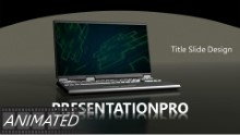 Animated Tech 0965 Widescreen PPT PowerPoint Animated Template Background