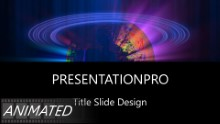 Animated Widescreen Global 0003 PPT PowerPoint Animated Template Background