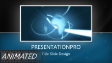 Animated Widescreen Global 0022 E PPT PowerPoint Animated Template Background