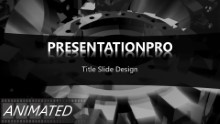 Animated Widescreen Industry 0011 PPT PowerPoint Animated Template Background