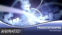 ABSTRACT 0007B Widescreen PPT PowerPoint Animated Template Background
