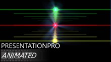 Dancing Spectrum Widescreen PPT PowerPoint Animated Template Background