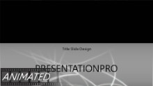 Dancing Lines Widescreen PPT PowerPoint Animated Template Background