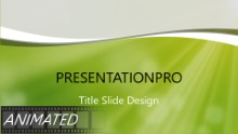 Green Dust Light Widescreen PPT PowerPoint Animated Template Background