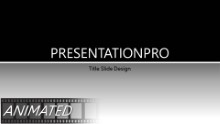 Light Stroke Gold Widescreen PPT PowerPoint Animated Template Background