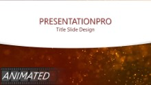 Red Textured Dust Curve Widescreen PPT PowerPoint Animated Template Background
