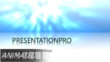Shinning Reflection Widescreen PPT PowerPoint Animated Template Background