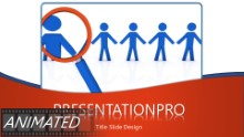 Close Inspection Widescreen PPT PowerPoint Animated Template Background