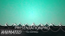 Sea Of Questions Widescreen PPT PowerPoint Animated Template Background