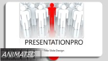 Stepping Out Widescreen PPT PowerPoint Animated Template Background