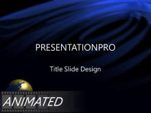 Download deep blue Animated PowerPoint Template and other software plugins for Microsoft PowerPoint