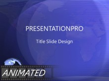 Download blue swoops Animated PowerPoint Template and other software plugins for Microsoft PowerPoint