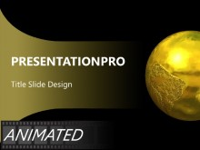 Download gold Animated PowerPoint Template and other software plugins for Microsoft PowerPoint