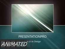 Animated Rising Swish Frame Light PPT PowerPoint Animated Template Background