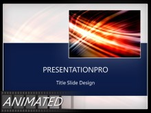 Animated Streak On Black Border Light PPT PowerPoint Animated Template Background