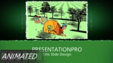 Camping 0876 Widescreen PPT PowerPoint Animated Template Background
