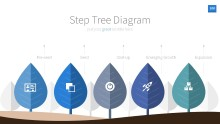 InfoGraphic 100 Blue PPT PowerPoint Info graphic Diagram