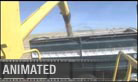 Grainhandling (silent) - Widescreen PPT PowerPoint Video Animation Movie Clip