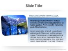 Photo Square 1 PPT PowerPoint presentation slide layout