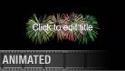 Fireworks Title PPT PowerPoint presentation slide layout