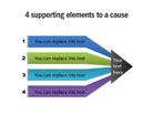 Cause-Effect Diagram 18 PPT PowerPoint presentation Diagram