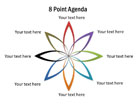 Flower Diagram 07 PPT PowerPoint presentation Diagram