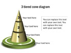 Pyramid Diagram 23 PPT PowerPoint presentation Diagram