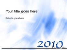 Download 2010 02 blue PowerPoint Template and other software plugins for Microsoft PowerPoint