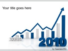 Download 2010 increasing blue PowerPoint Template and other software plugins for Microsoft PowerPoint