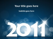Download 2011 time to sparkle PowerPoint Template and other software plugins for Microsoft PowerPoint