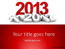 2013 Pile PPT PowerPoint Template Background