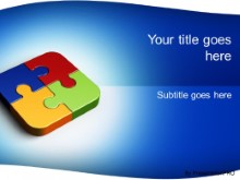 Download puzzle square PowerPoint Template and other software plugins for Microsoft PowerPoint