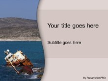 Download ship wreck PowerPoint Template and other software plugins for Microsoft PowerPoint