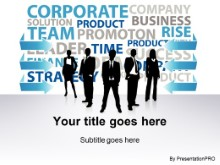 Download corporate team solution PowerPoint Template and other software plugins for Microsoft PowerPoint