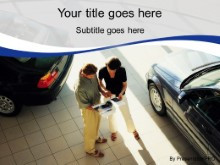 Download car sales blue PowerPoint Template and other software plugins for Microsoft PowerPoint