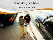 Download car sales orange PowerPoint Template and other software plugins for Microsoft PowerPoint